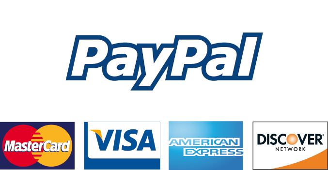 Paypal and all major credit cards accepted at Natural Beauty Spa