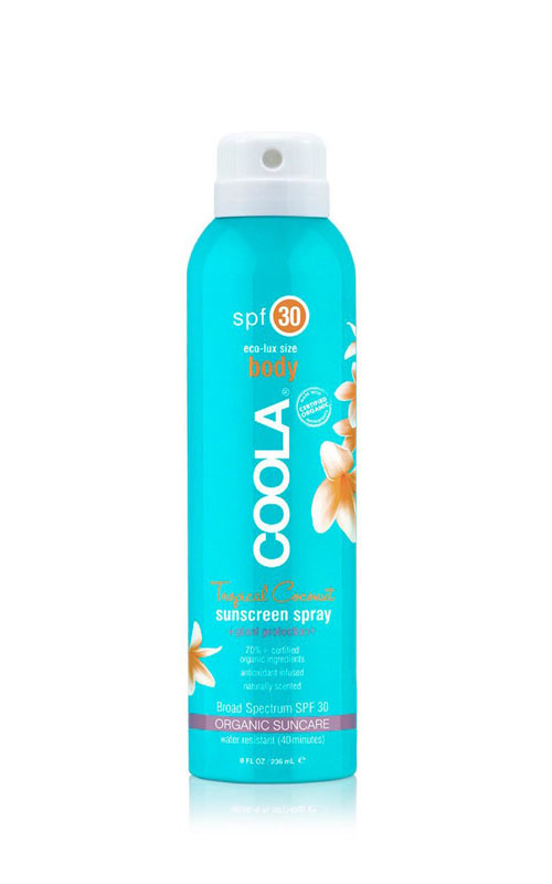 Coola Suncare Sport Spray SPF 30 Tropical Coconut