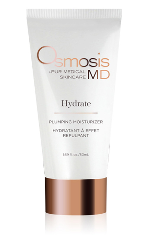 Osmosis Skincare MD Hydrate Plumping Moisturizer not only a powerful hydrater but reduces the apperance of aging.