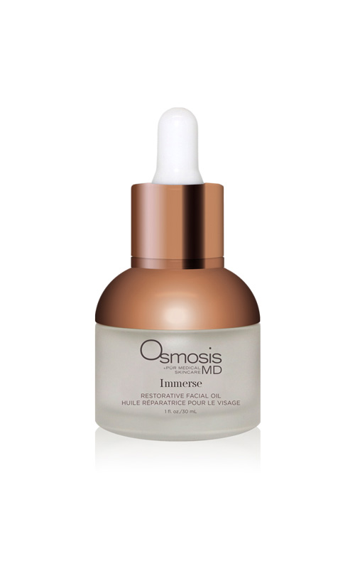 Osmosis Pur Medical Skincare Immerse Mositure Booster restores the skins oils to soothe very dry and sensitive skin.