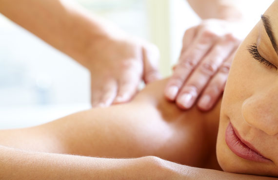 Massage Therapy at Natural Beauty Spa