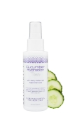 Skin Script Cucumber Hydration Toner rehydrates the skin while it soothes and cools irritated skin.