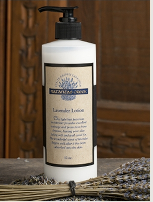 Matanzas Creek Lavender body lotion provides yummy hydration, leaving your skin feeling soft and nourished.